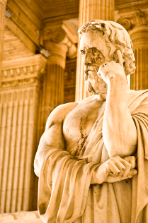 Justicia, Recht, Statue